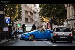 Bugatti Veyron Grand Sport  | Bugatti Light Blue & Blue Matte (Valkarth) Tags: auto street blue urban paris france car sport canon french eos automobile dubai blu dream grand automotive voiture bleu arab coche arabe saudi arabia mk2 5d sa kuwait q bugatti qt fr gs 70200 f28 supercar reve qatar mkii veyron roadster markii ksa 70200mm mark2 qtr arabie qatari hypercar worldcars saoudite 5d2