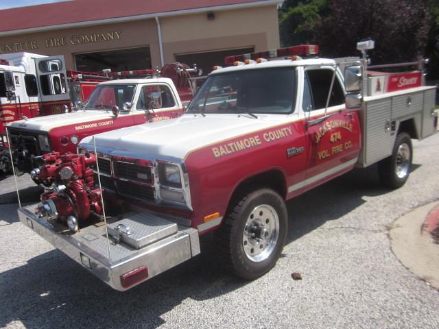 4x4 diesel firetruck dodge 1991 mopar carshow brushtruck powerram w350 jacksonvillemd jacksonvillevolfireco