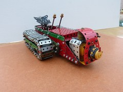 Ransomes MG crawler tractor  5 (Elsie esq.) Tags: model meccano crawler mg2 ransomes