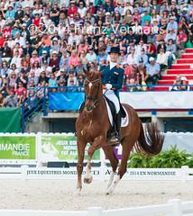 140829_GP_Freestyle_2986.jpg (FranzVenhaus) Tags: horses france fei normandie fra caen weg dressage