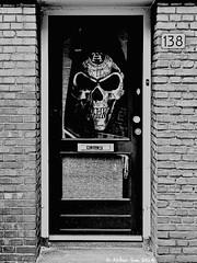 DSCN0779 (Akbar Sim) Tags: door bw holland netherlands zwartwit nederland denhaag thehague deur akbarsimonse akbarsim