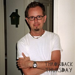 Christopher - Throwback Thursday Edition (meChristopher) Tags: gay cute men nerd goatee glasses geek sweet memories innocent young birdhouse burbank 20s tbt smirky gayguy throwbackthursday christopherswan instagram