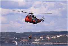 Westland WS-61 Sea King HU5 (G.L. Photography) Tags: lifeboat devon lancaster spitfire blades redarrows raiders chipmunks seaking rnli spearman beech18 dawlishairshow yak32