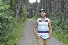 Chateaugay, NY (MinouMeow) Tags: trees usa nature america forest beard waterfall nikon dof blueeyes adirondacks greenery newyorkstate talltrees stateparks highfallsny nationalforests fixed50