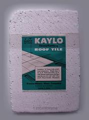 KAYLO Asbestos Insulation Sample (Asbestorama) Tags: roof tile insulation toledo block fibers roofing asbest asbestos fibrous asbesto amiante kaylo owensillinois