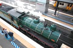 BB18 1/4 1079, Bety sky view (Lance CASTLE) Tags: train tracks passengers railwaystation qr bety steamtrain steamlocomotive 1079 queenslandrail corinda arhs qgr bb1814 australiansteamtrain coalsteam