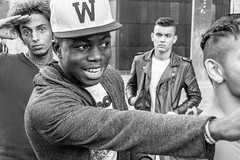 Cologne youth (lomokev) Tags: people blackandwhite bw youth germany streetphotography cologne samsung northrhinewestphalia bassballcap imagelogger galaxynx samsunggalaxynx nxexplorer