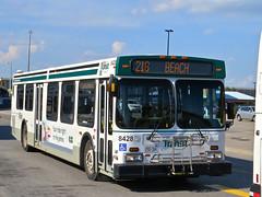Durham Region Transit 8428 (YT   transport photography) Tags: new bus flyer durham transit region drt d40lf