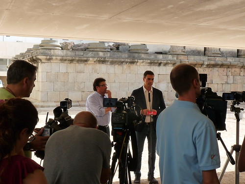 Pedro Sánchez y Guillermo Fernández Vara