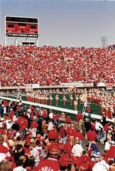Nebraska 55  Oklahoma State 0.... (stevelamb007) Tags: football nebraska university band memorialstadium huskers
