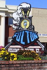 Welcome to Fulton, KY Steam Train sign (SeeMidTN.com (aka Brent)) Tags: sign train kentucky ky welcome fulton welcomesign steamtrain steamlocomotive fultoncounty bmok bmok2