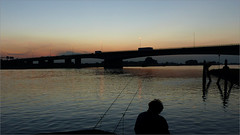 IJssel (hhw 2009) Tags: holland zonsondergang nederland brug ijssel zwolle overijssel