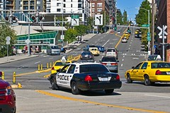 Port of Seattle Police Department K-9 Unit Ford Crown Victoria Police Interceptor (andrewkim101) Tags: seattle county ford port washington downtown king state police victoria wa crown department k9 interceptor unit