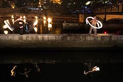 11 Fire dancers perform (Photo by Jennifer Bedford)
