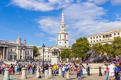 Exploring London: Trafalgar Square day 1 (faithieimages.com) Tags: world street city uk greatbritain travel england urban london square europe unitedkingdom trafalgar wanderlust gb