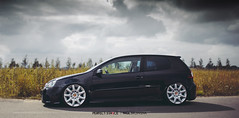 Volkswagen Golf MkV - Bentley Continental GT (Rick Bruinsma) Tags: golf volkswagen perfect ride air meeting static bentley treffen amersfoort stance spakenburg bunschoten airride leusden perfectstance