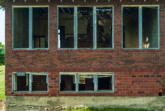 A Former Rural Schoolhouse (Jerry7171) Tags: history abandoned architecture southdakota rural ruins unitedstates country farmland nostalgia prairie schoolhouse oneroomschoolhouse farmfields garretson countryschool minnehahacounty slipupcreek walkinsschooldistrictno144 erosdatacenterroad