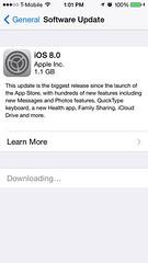 نزل iOS 8