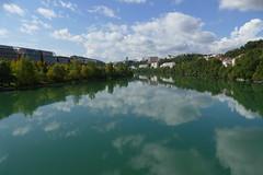 Lyon - Le Rhne (larsen & co) Tags: france lumix day lyon cloudy rhne panasonic reflets fleuve rhnealpes caluire lerhne fz1000 dmcfz1000 panasoniclumixdmcfz1000