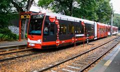 Kln (austrianpsycho) Tags: station train germany deutschland 1 cologne eisenbahn railway zug rails bahn gleise kvb haltestelle koln schienen 4079 kolnerverkehrsbetriebe stadtbahnkoln