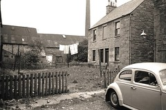 Unknown (Dundee City Archives) Tags: old cars architecture vw buildings design place photos dundee union beetle victorian rope row flats step era works housing tenements victorianhousing victoriantenements olddundeephotos