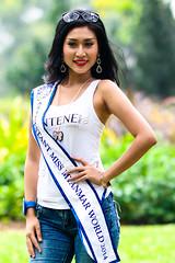 Miss Myanmar World 2014 Contestant (Rickloh) Tags: girls beautiful pose bokeh rick samsung sg singaporebotanicgardens nx mirrorless nx30 samsungnx beyondbokeh samsungnx85mmf14 rickloh nxsg missmyanmarworld2014contestants