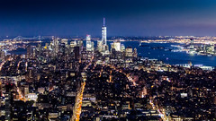 NYC - August 2014-544 (fabfotophotography) Tags: city nyc newyorkcity sunset skyline night dark lights day manhattan nj fromabove empirestatebuilding unioncity rockefeller flatiron magichour goldenhour observationdeck asiantwink oneworldtrade