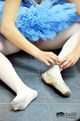 In the dressing room (SuGD) Tags: ballet shoes toe dancing room danza dressing camerino tutu tut zapaitllas