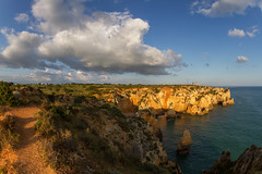 Algarve - Farol da Ponta da Piedade (Thomas Berg (Cottbus)) Tags: portugal geotagged faro meer lagos da ponta farol algarve piedade kste prt atlantik ozean portodems geo:lat=3708190005 geo:lon=867424084