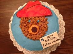 Bear cake by Leann, Triad Area, NC, www.birthdaycakes4free.com