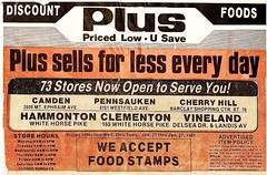 Plus Discount Foods Locations SJ 1981 (JSF0864) Tags: food history retail store discount ap plus grocery locations