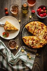 IMG_9205_exp-2 (Helena / Rico sin Azúcar) Tags: strata huevos eggs pudding basil orégano albahaca jamón ham food comida tomatoes tomates espárragos asparagus bread pan cream nata
