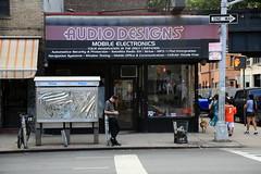 abelincolnjr  jengenotype (Luna Park) Tags: ny nyc newyork manhattan adtakeover art phonebooth lunapark abelincolnjr jengenotype