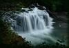 Falls at Dusk (Ernie Misner) Tags: f8andmistylens lowerlewisfalls lewisriver river falls waterfall washington erniemisner nikon d800 lightroom nik capturenx2 cnx2 dusk