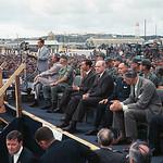 26 Oct 1966, Cam Ranh Bay, South Vietnam - TT Johnson, vị khách bất ngờ của Nam VN, viếng thăm binh sĩ Mỹ tại Vịnh Cam Ranh thumbnail