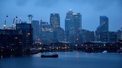 Canary Wharf (35mmMan) Tags: london docklands city urban metropolis dusk uk e16 nikon docks canary wharf cityscape river