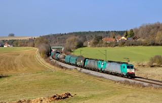 COBRA - Corridor Operations NMBS/SNCB DB Schenker Rail N. V. 186 227 + 186 2xx Edlhausen