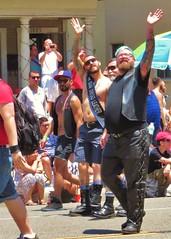 LBPride14 095 (danimaniacs) Tags: shirtless man hot sexy guy leather tattoo beard hunk parade longbeach gaypride tats lbpride14
