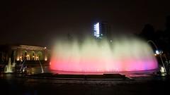 Amazing (Silvana MoOL) Tags: park old color peru water fountain tech lima magic circuit peruvian guinessrecord