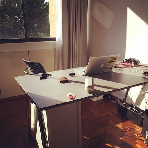 The new #HomeOffice. Creation point of #DesigningFutureEnterprises @Publishizer