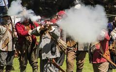 17th Century Soldiers (joanjbberry) Tags: soldier gun cheshire pentax gunpowder musket gunfire k30 pentaxk30 17thcenturysoldiers