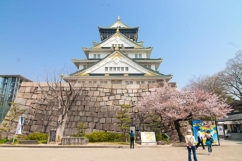 「大阪城天守閣 櫻花」的圖片搜尋結果
