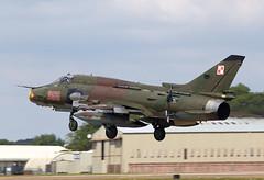 SU22 Fitter (Bernie Condon) Tags: tattoo plane fighter display military attack jet poland airshow airforce warplane ffd fairford riat fitter airtattoo su22 riat14