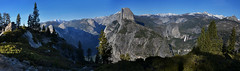 Yosemite National Park, Glacier Point Panorama (ladigue_99) Tags: california usa southwest hiking hike halfdome yosemitenationalpark glacierpoint ladigue99