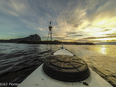 nordland kajakk 2 (Eskil Persen) Tags: sea norway norge kayak adventure kayaking lofoten vry gosomewhere gopro