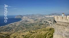 Panorama dal Castello di Venere (Antudo) Tags: panorama sony tokina sicily bruno sicilia erice trapani sicilie castellodivenere antudo sonyalpha77 brunomirabile