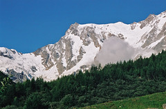 Monte Rosa (mount), Alps, Italy, 2006 (mathieu.LM) Tags: summer italy mountain alps rose analog forest landscape pass rosa valle peak 2006 glacier mount punta monte signal mont passo ghiacciaio canoneos300 gnifetti grober signalkuppe anzasca zumsteinspitze grenxgipfel