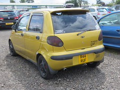 1998 Daewoo Matiz SE Plus (GoldScotland71) Tags: se daewoo plus 1998 1990s matiz mk1 r44ruf