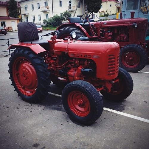 #vscocam #retro #traktor