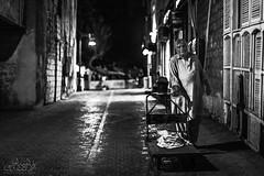 Human Life (Abdulaziz N Alotaibi) Tags: street old white black art night photoshop canon way photography blackwhite oldman saudi 5d jeddah ksa